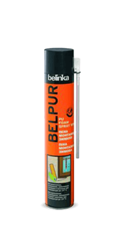 BELPUR PU Foam Spray Winter